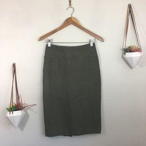 Anthropologie | Moulinette Soeurs green skirt